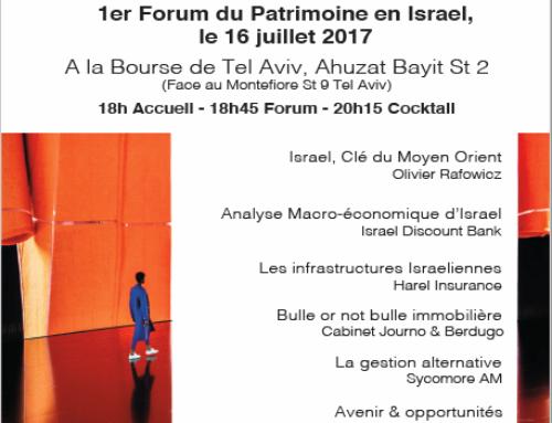 HEREZ : Les défis de la gestion de patrimoine en Israël